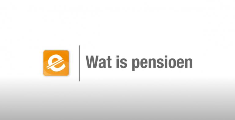Wat is pensioen?